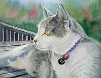 Portraits - Cat - Watercolor