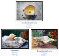 Bestselling Art - Bestselling Art Sea Shells Series - Watercolor