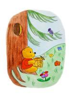 Watercolor Illustrations - Winnie The Pooh And His Lunch - Watercolor